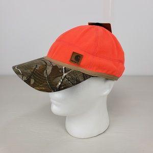 Carhartt Accessories - Carhartt Force Fleece Blaze Orange Realtree Hat ee210475e0a6